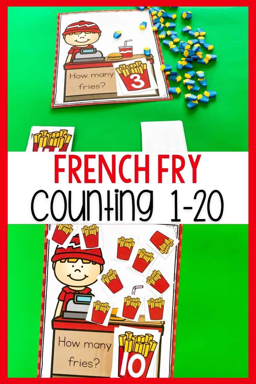 Preschool Restaurant Theme Printable Counting Mats Preschool Counting Worksheets Counting Activities Preschool Preschool Restaurant [ 1500 x 1000 Pixel ]
