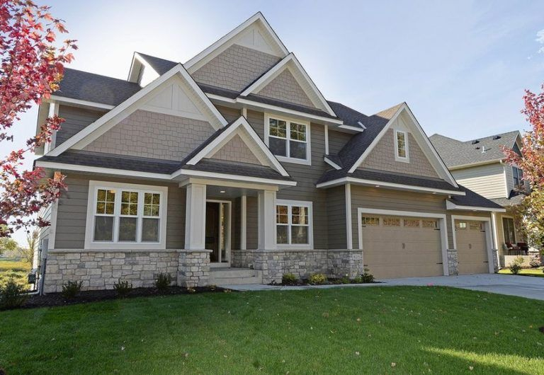 aged pewter siding paired with natural stone exterior on modern house designs siding that look amazing id=59076