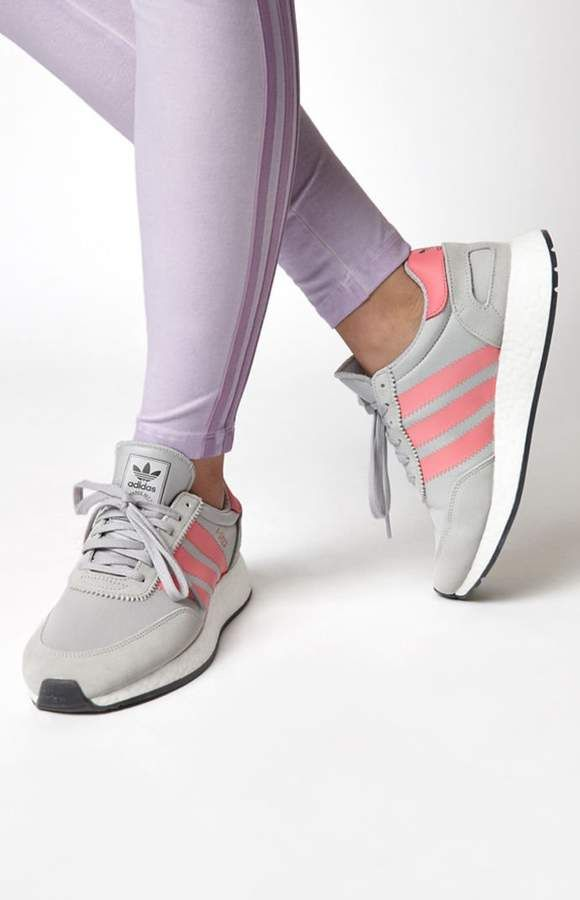 timeless design 6abce 5fd9d adidas Womens Gray I-5923 Sneakers