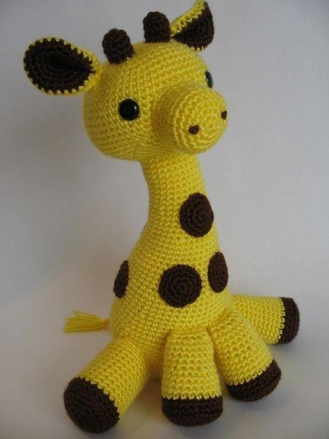 Amigurumi Giraffe Pdf Pattern Amigurumi Patterns Crochet And Giraffe