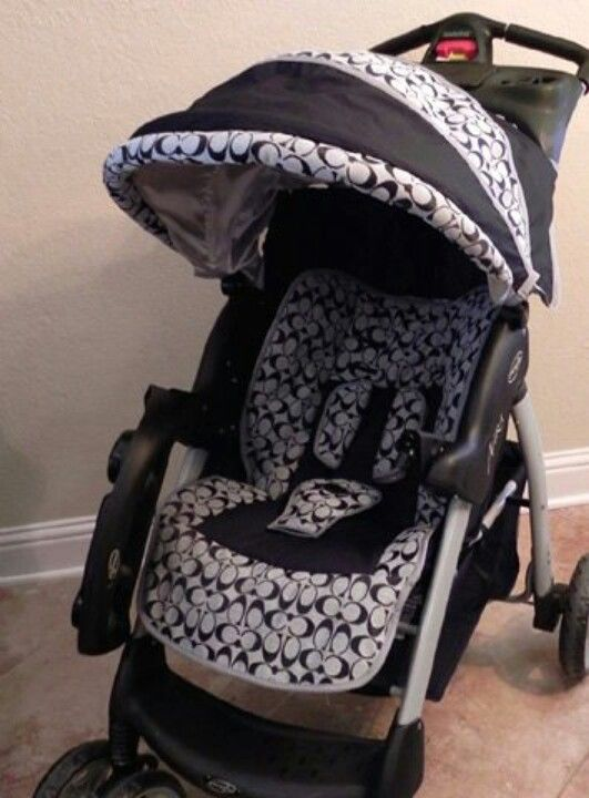 If Its A Boy We Are Doing Coach Theme Carseat And Stroller