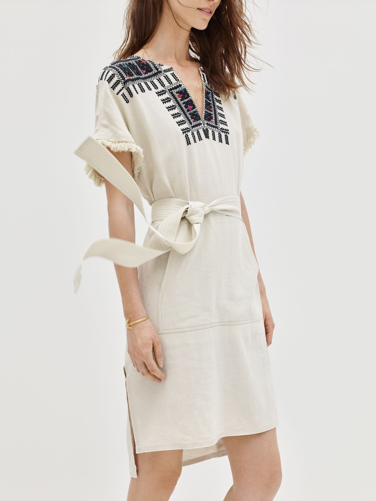 ae946ff79de madewell embroidered paradise dress.