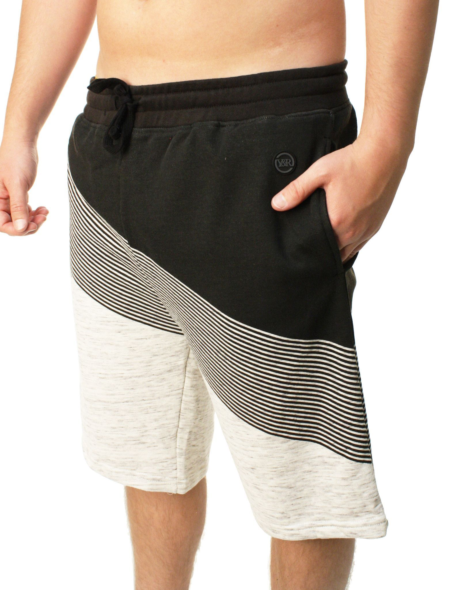 Young & Reckless Men's Single Axis Sweat Shorts