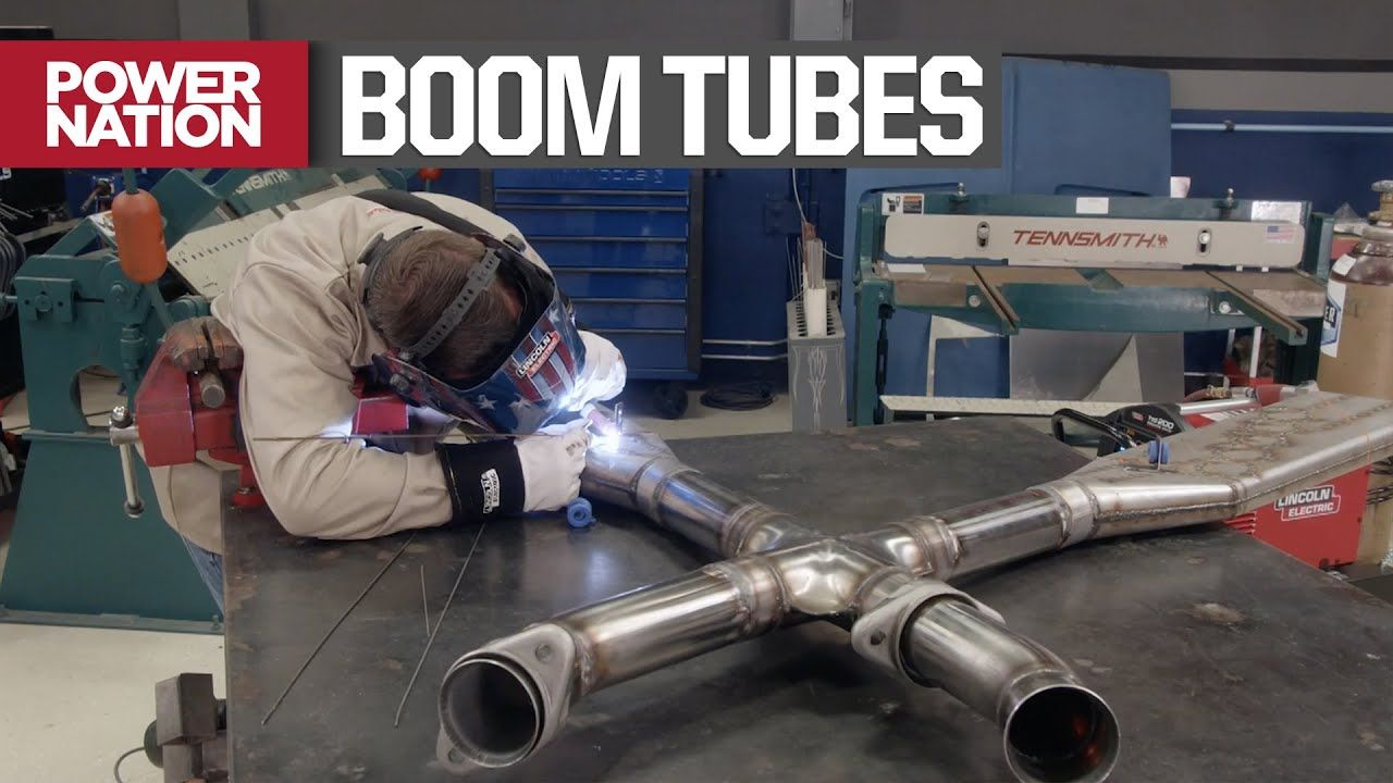 Installing A Nascar Style Exhaust System On A Foxbody Mustang Detroit Muscle S6 E2 Youtube Mustang Nascar Muscle