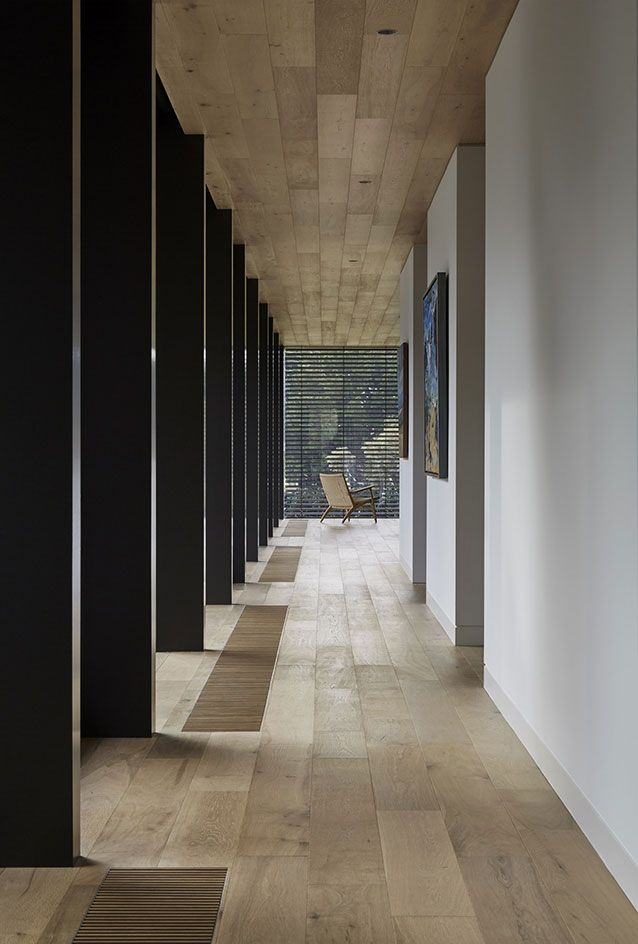LONG HALL BUT WITH WINDOW AT END MAKES IT OK. Small yet perfectly formed: a low house on Australia's Mornington Peninsula is all about simplicity | Architecture | Wallpaper* Magazine