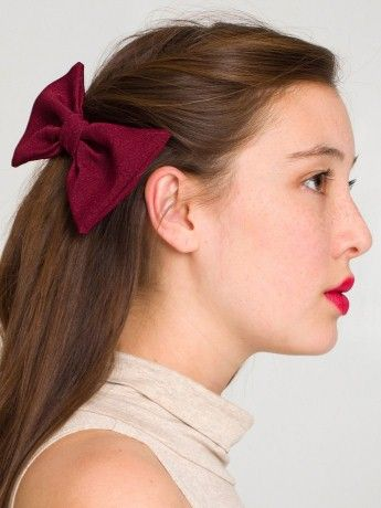 Bow Hair Clip...american apparel here I come
