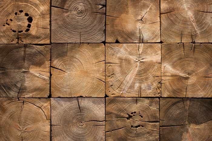 Reclaimed Wood End Grain M