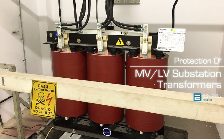 Protection Of Mv Lv Substation Transformers