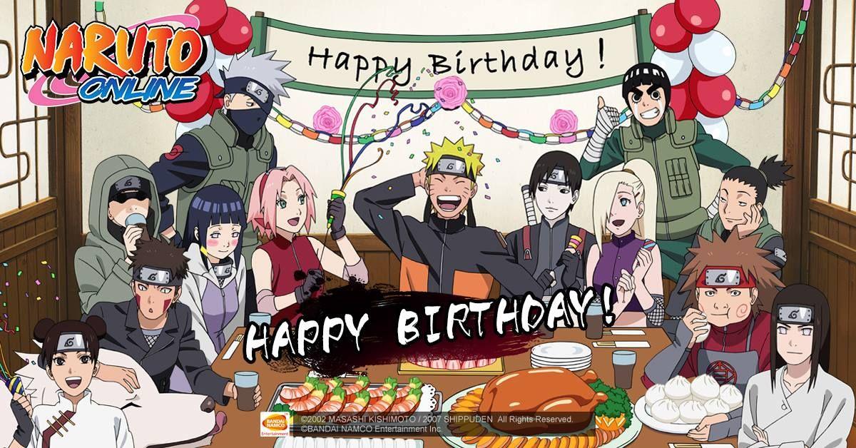 Поздравления наруто с днем рождения