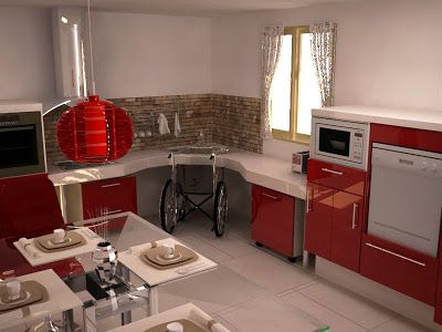 Cocinas adaptadas para discapacitados en sillas de ruedas | Sillas ...