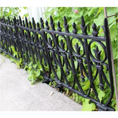 Lovely Antique Reproduction Victorian Garden Fence Edging Pieces Finally, Instead  Of Searching Through A Pile Of