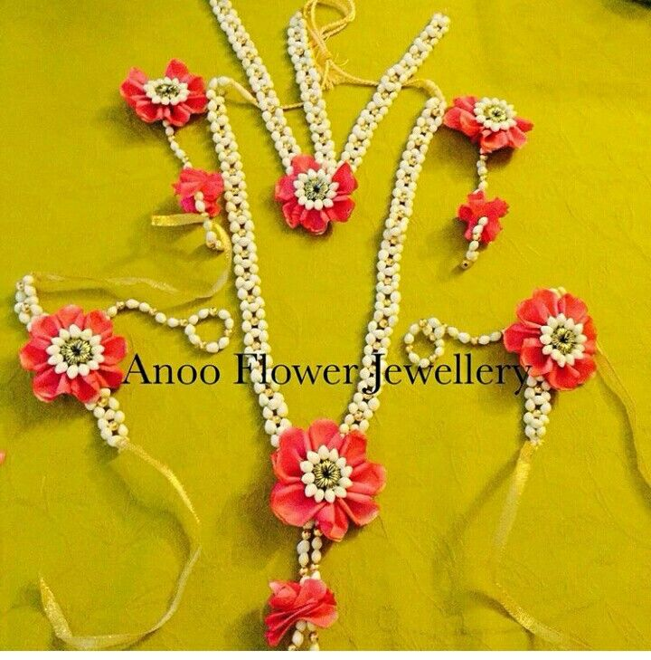 Buy Mehndi Flower Jewellery : Flower jewellery pinterest