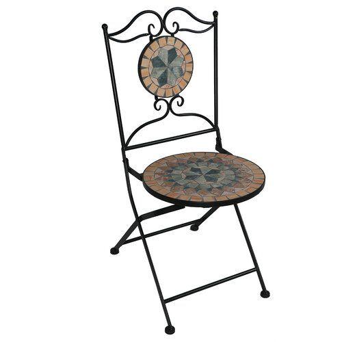Hazelton Metal Folding Chair Sol 72 Outdoor Metal Folding