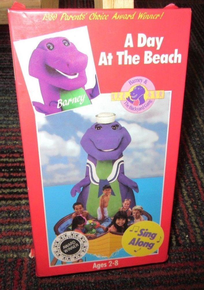 BARNEY & BACKYARD GANG: A DAY AT THE BEACH VHS VIDEO ...