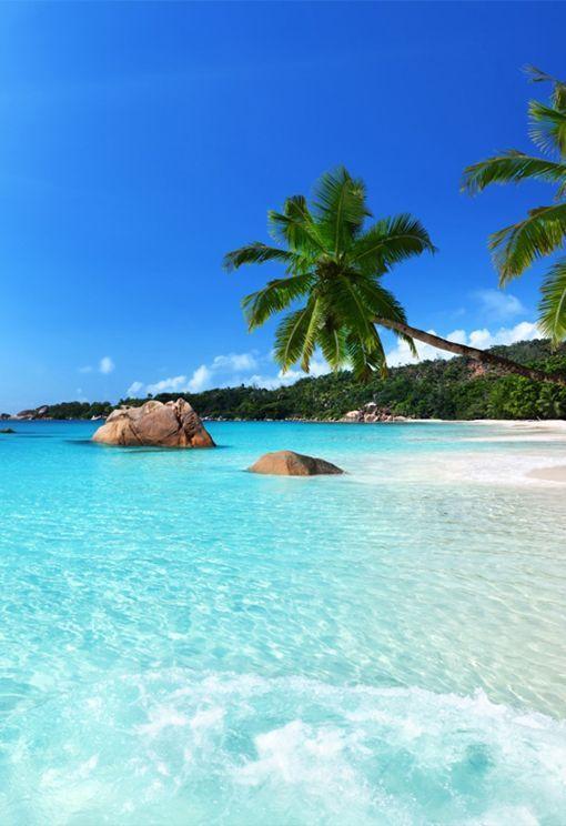 Seychelles Indian Sea Africa Con Imagenes Paisajes De Mar