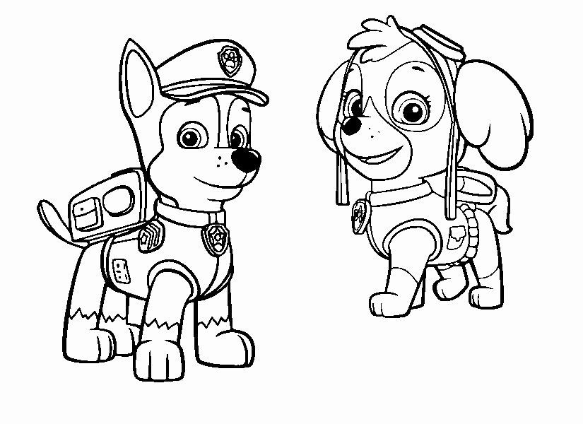 Paw Patrol Chase Coloring Page Awesome Stella And Chase Free Paw Patrols Pinterest Paw Patrol Coloring Paw Patrol Coloring Pages Free Coloring Pages