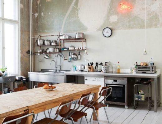Onbewerkte Rauwe Muren : Het perfecte knusse interieur van the estate trentham keuken
