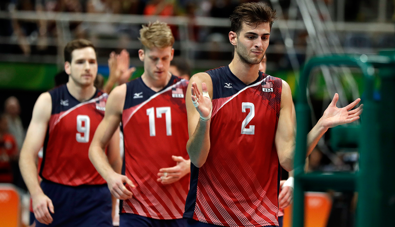 Usa Men S Volleyball Can T Right The Ship In Another Tough Loss Mens Volleyball Olympic Volleyball Volleyball Team