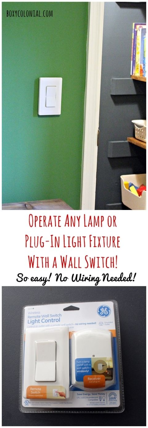 Control Any Plug-in Light with a Wall Switch: A Quick Ikea Light ...