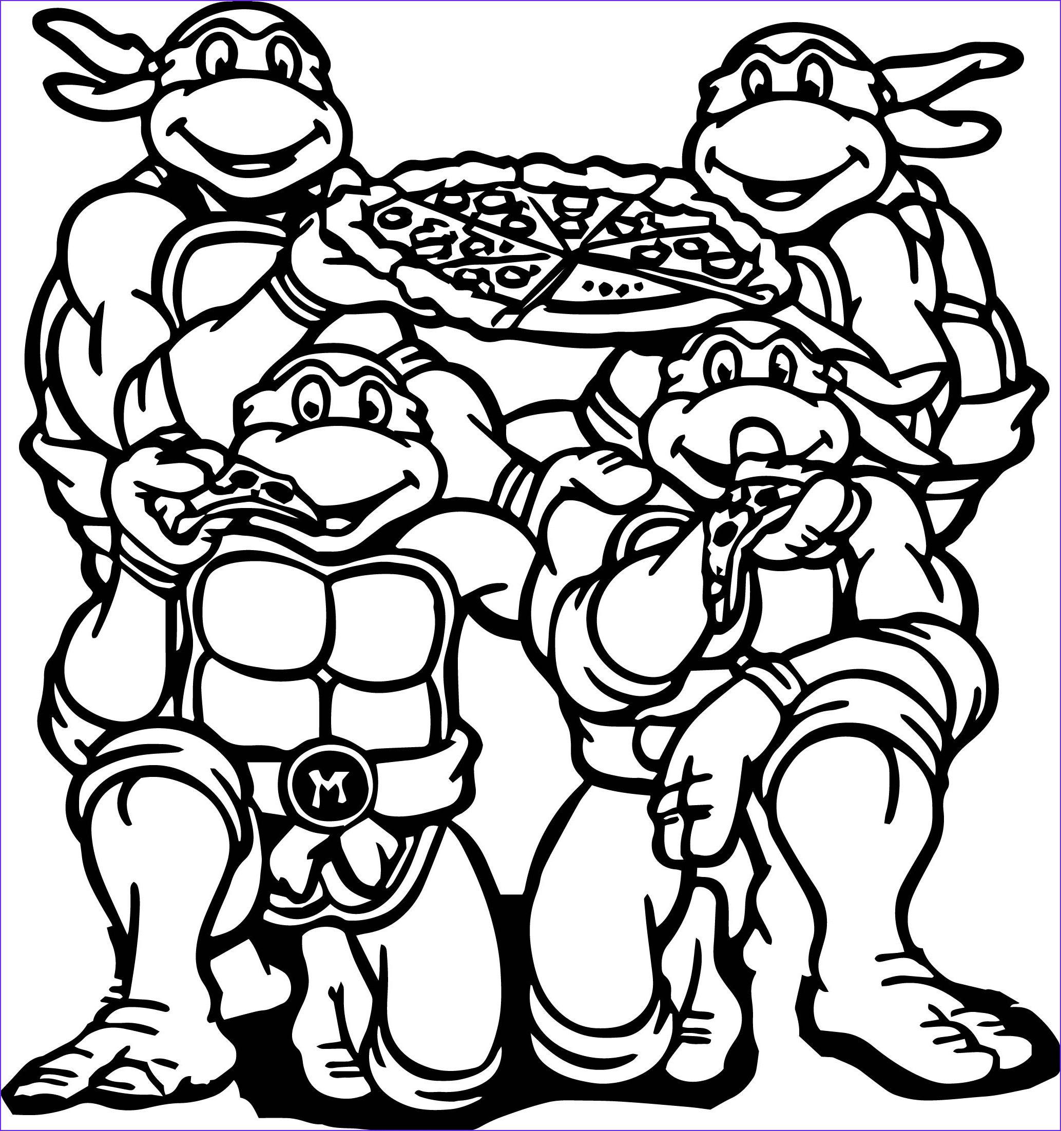 Pin By Belkisa Bektas On Coloring Ninja Turtles In