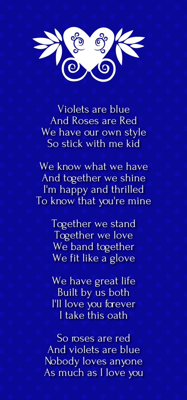 rose are red violets are blue love poems | Romantic Poems ...