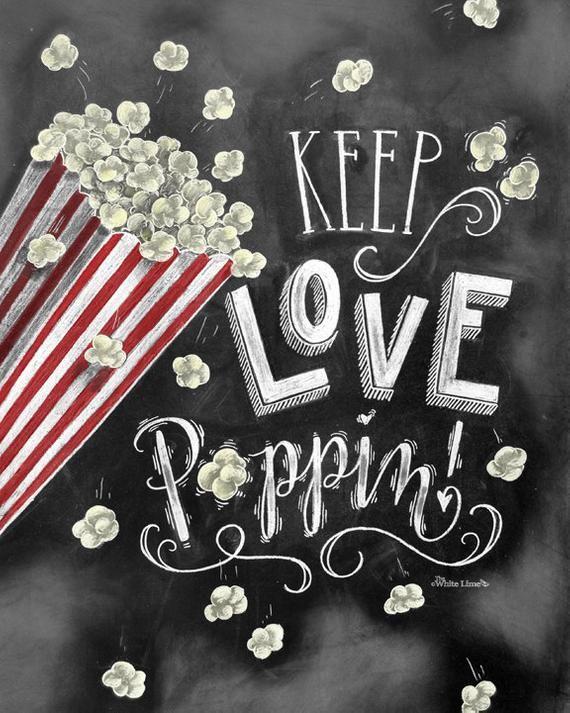 Popcorn Bar Wedding Popcorn Bar Popcorn Bar Sign Chalkboard | Etsy