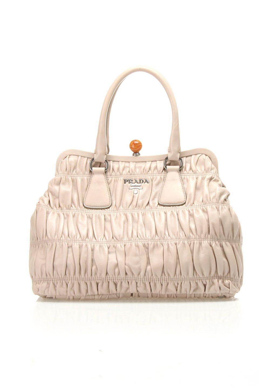 538d6b5bdce5 Prada Nappa Gaufre Handbag In Pumice - Beyond the Rack   My Style ...