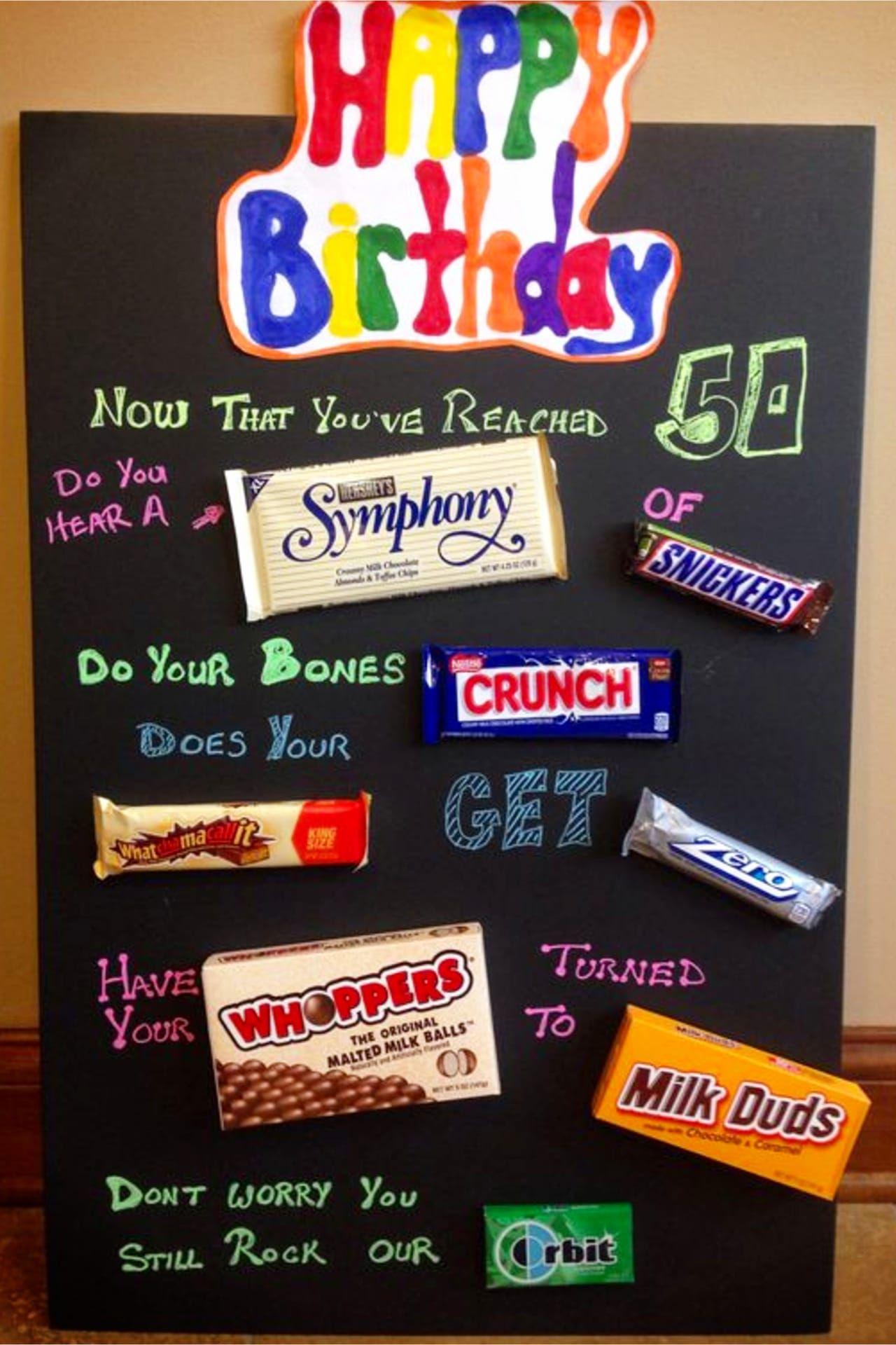 Birthday Posters Diy