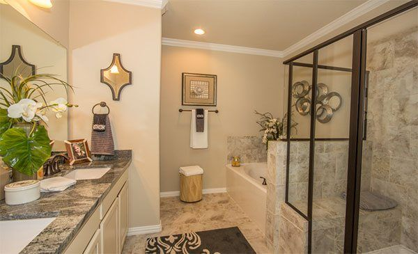 Imperial oaks summit springs new home community for Bathroom design houston