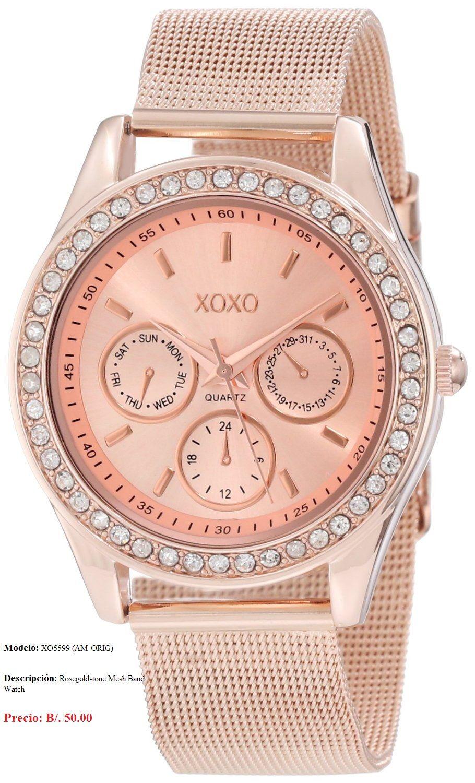 Reloj XOXO para dama.  415c8035ca4d