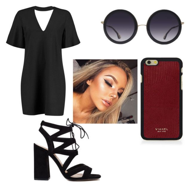 """""""👓❤️"""" by harrismya on Polyvore featuring Boohoo, Alice + Olivia and Vianel"""