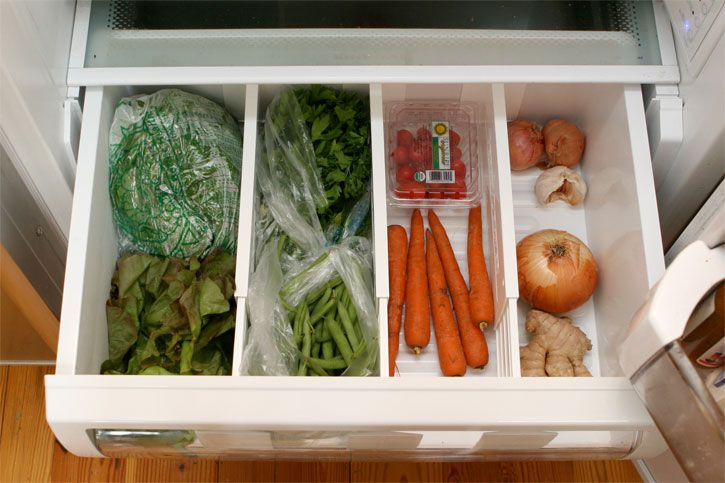 Charming Organize Your Life Photos)   Use Dividers In The Refrigerator Vegetable Bin  To Separate Onions From Carrots, Etc