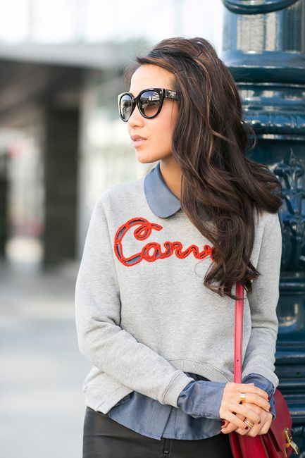 cropped carven