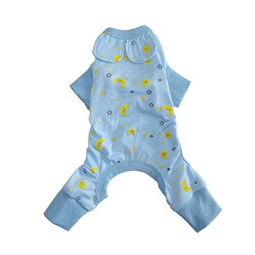 HOT Blue Dog Clothes For Dog Jumpsuit Pets Dogs Clothing Puppy Pet Dog Shirt Cat Cozy Pajama XL Blue ** See this great product.