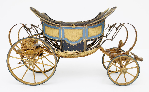 """Carruagem para criança """"O Rei de Roma"""" (1811 - 1812)"""