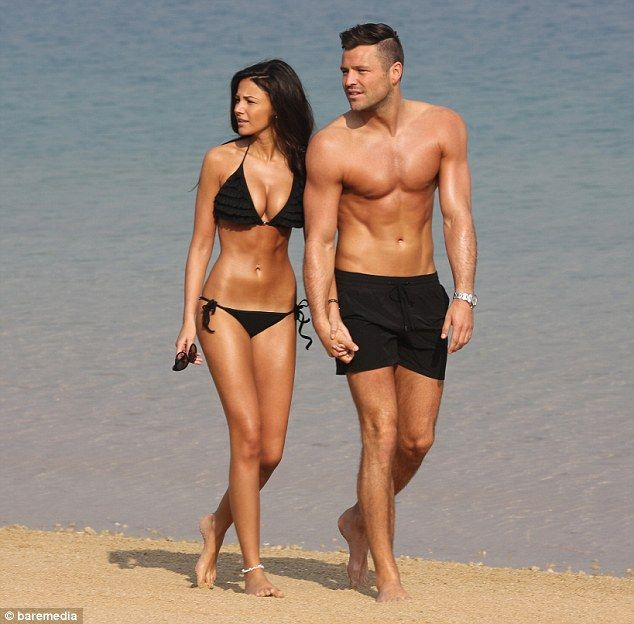 Michelle Keegan And Mark Wright Put On An Amorous Display In Dubai