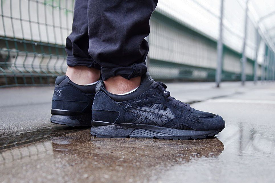 asics gel lyte 5 all black