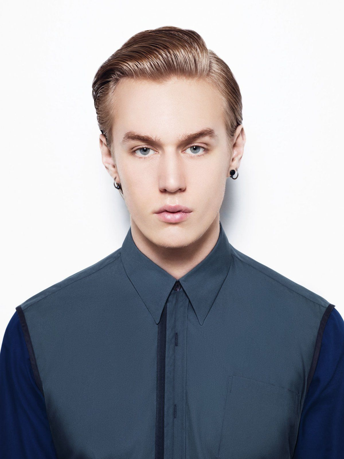 Elegante Trendfrisur für den Mann | Frisuren, Männer
