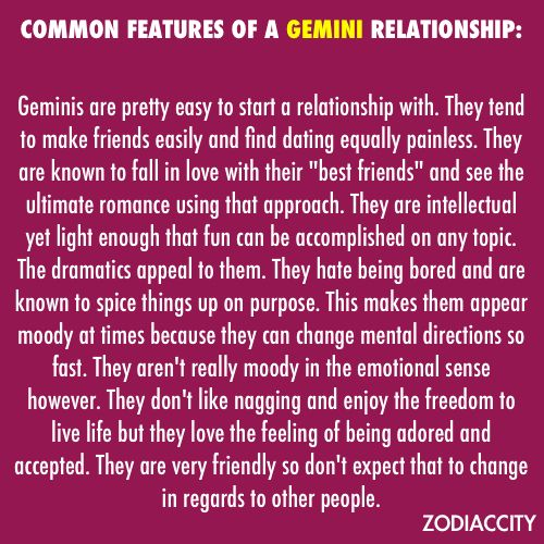 gemini dating gemini man