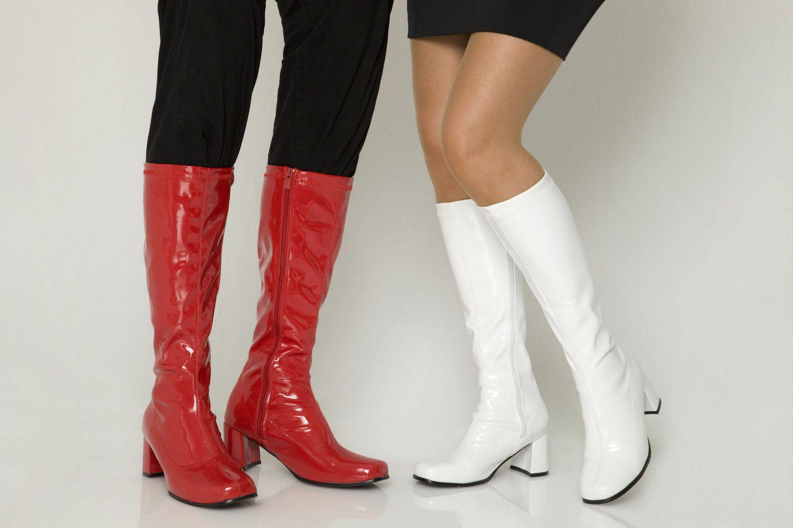 Fancy Dress Party GO GO Boots 60s \u0026 70s