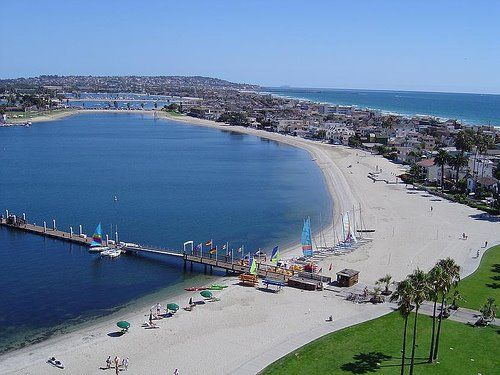Mission Bay Is Where I Want To Go For A Summer Trip With Friends
