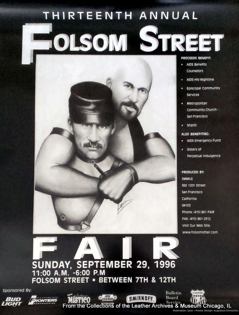 folsom street Mr Smiles leatherarchives: 1996 Folsom Street Fair poster