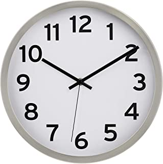 Amazon Com 12 Inch Wall Clock In 2020 Wall Clock Clock Wall