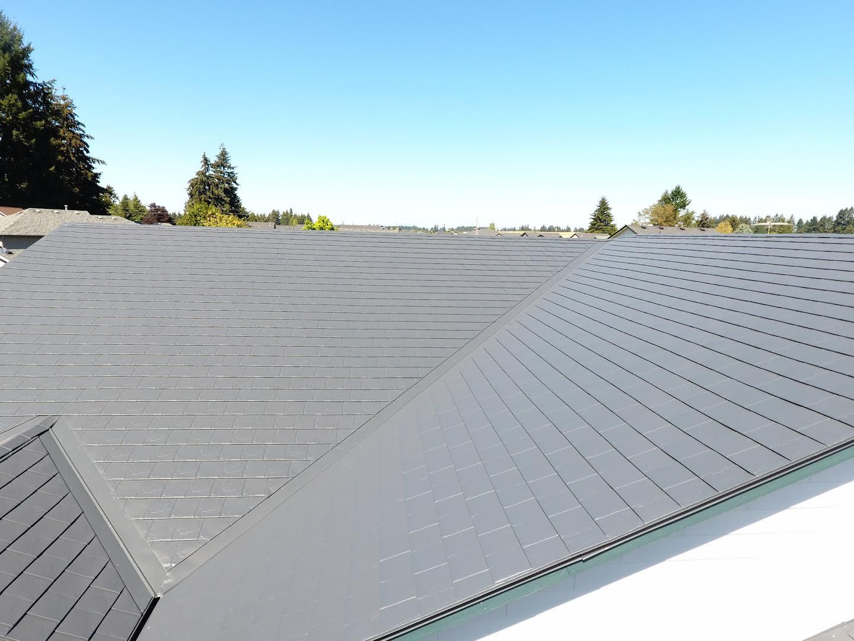 Slate Roofing Interlock Metal Roofing Metal Roofing Systems Roof Maintenance Roofing