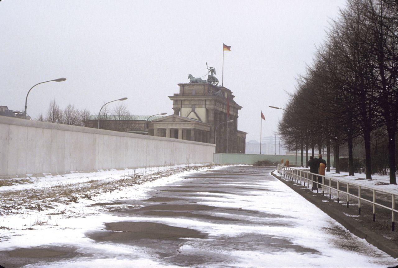 1979 Berlin Geteilte Stadt Brandenburger Tor Chris John Dewitt Berlin