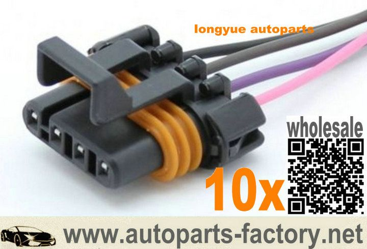 Longyue 10pcs D580 Ls1 Ls6 Ignition Coil Pigtail Female Connector Acdelco Pt368 Flat 12 With Images