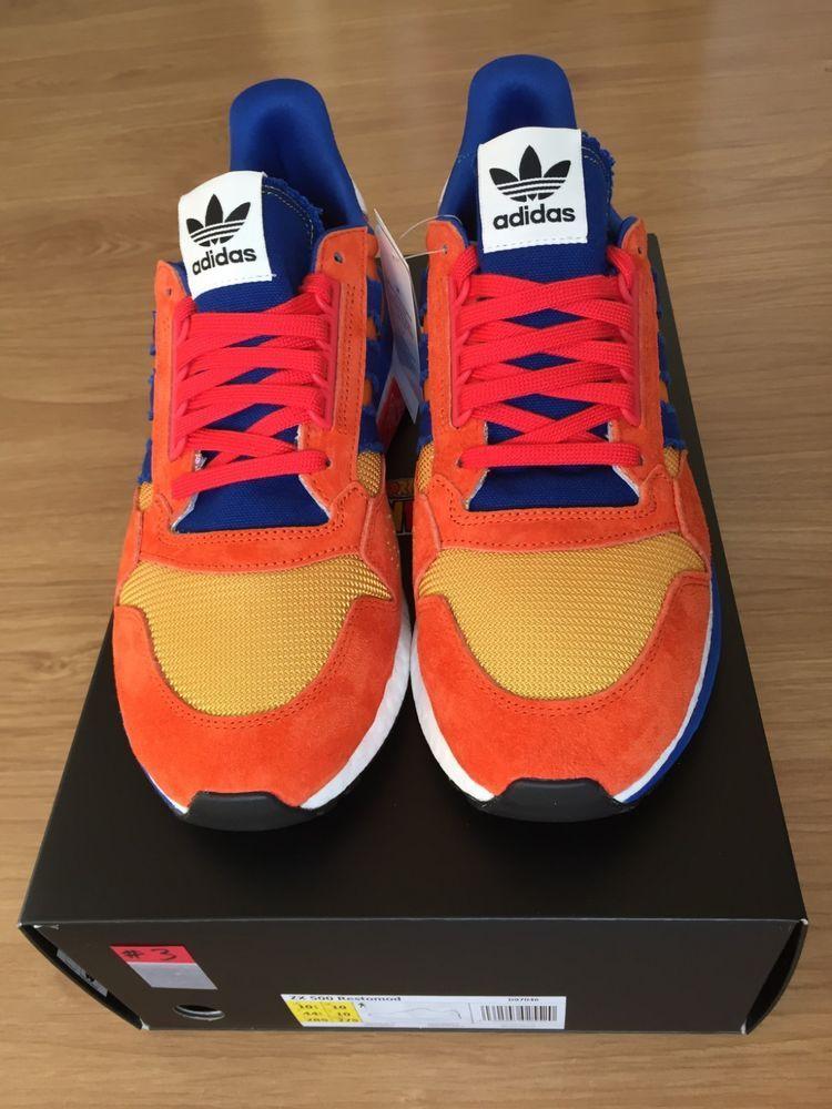 info for 696e4 acbdf DBZ x adidas Originals ZX 500 RM Son Goku Size US 10.5 Men's ...