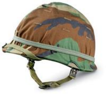 Old Steel Pot Gave Way To Kevlar Which Is Safer But You Can T Bathe Out Of Army Helmet Combat Helmet Military Helmets