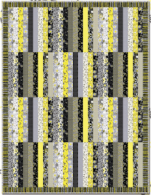Free Pattern Day! Jelly Roll Quilts, part 2 of 2 #jellyrollquilts