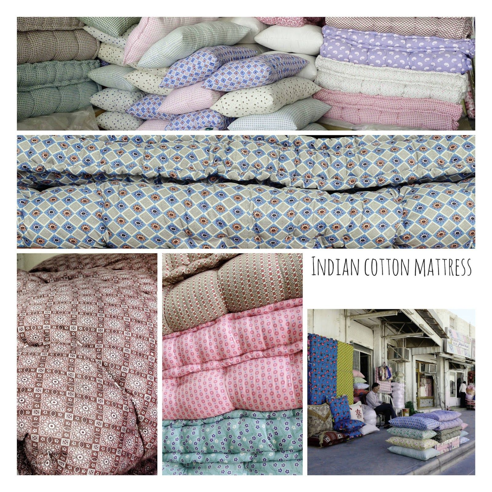 Pigtails Indian Cotton Mattresses Gaadi Cotton Mattress Indian Cotton Mattress